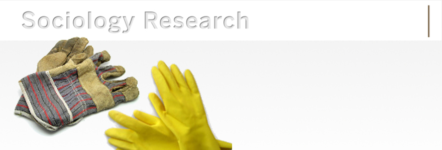 construction-style work gloves and yellow rubber dishwashing gloves