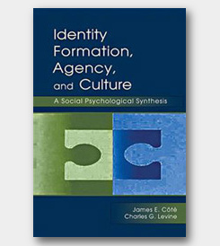 Identity Formation, Agency, and Culture: A Social Psychological Synthesis -cover