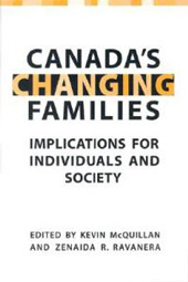 Canada's Changing Families -cover